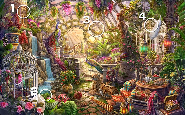 温室:竪琴
