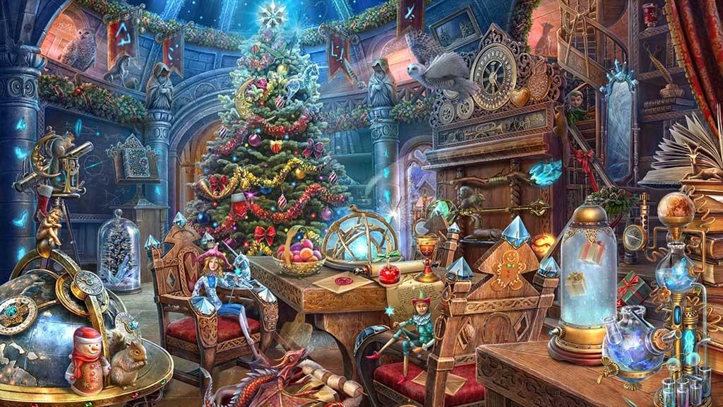 クリスマスの学校