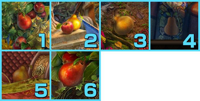 秋の谷:西洋梨