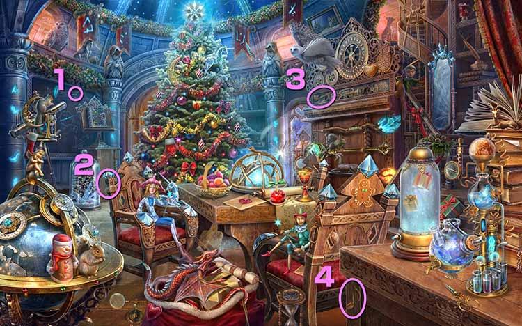 クリスマスの学校:音符