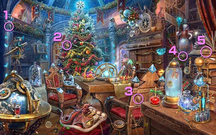 クリスマスの学校:クルミ