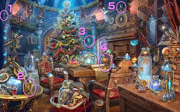 クリスマスの学校:聖杯