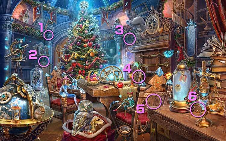 クリスマスの学校:蹄鉄