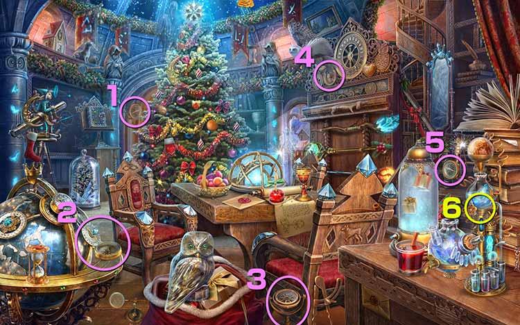 クリスマスの学校:方位磁石