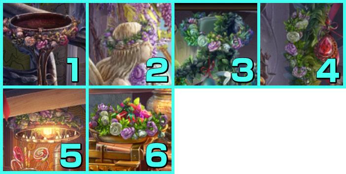 屋敷:花飾り
