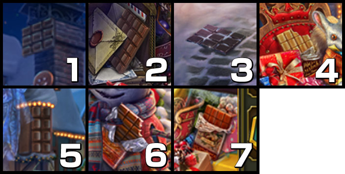 北極街:チョコレート