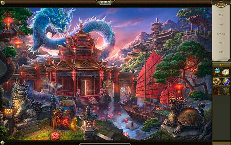 伝説の仏塔