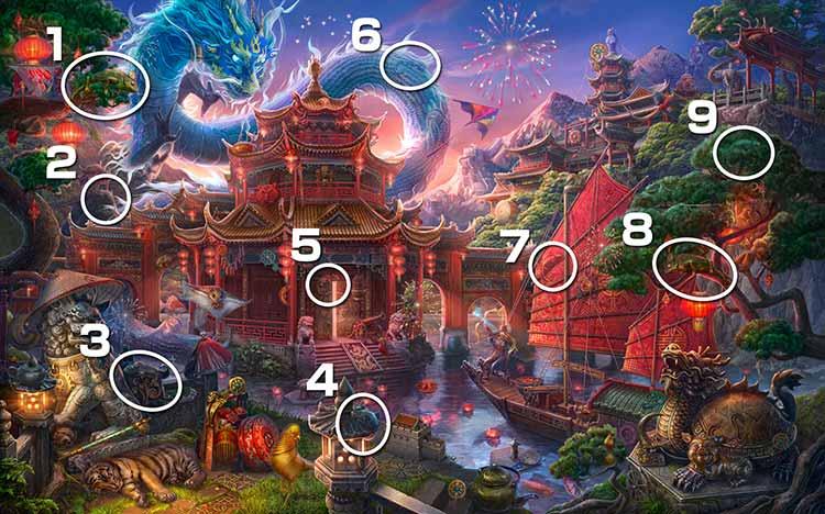 伝説の仏塔:カメレオン