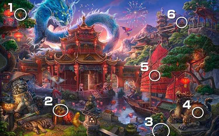 伝説の仏塔:コイン