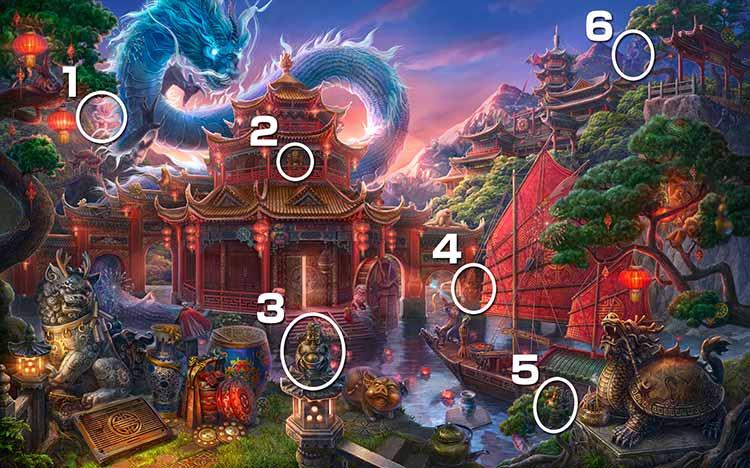 伝説の仏塔:財神