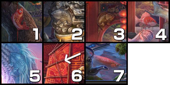 伝説の仏塔:魚