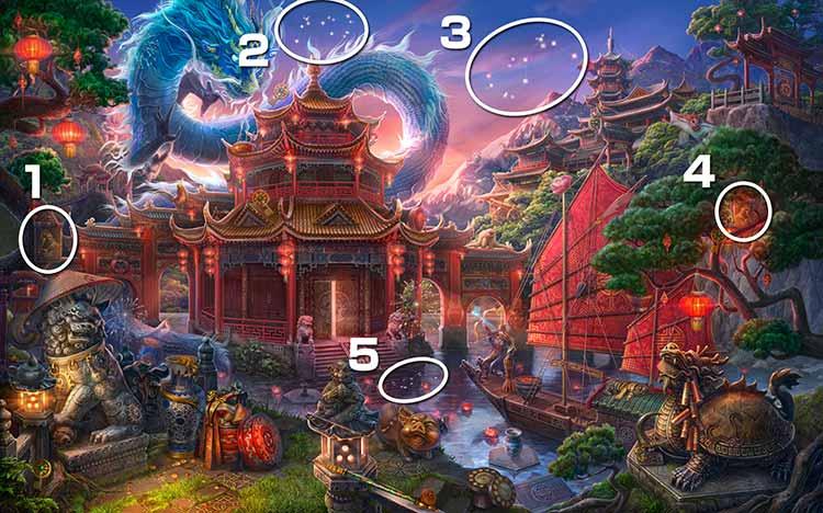 伝説の仏塔:星座