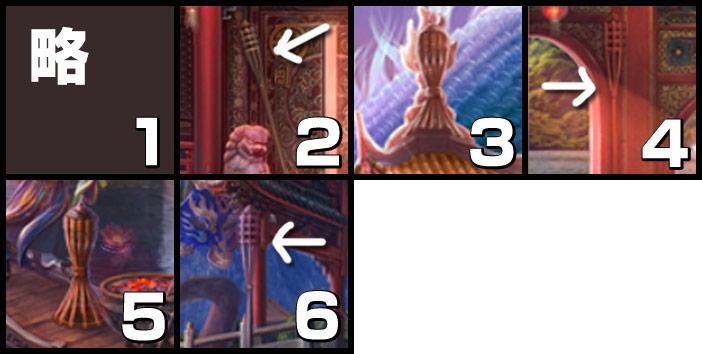 伝説の仏塔:竹製のたいまつ
