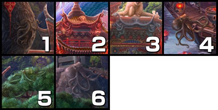 伝説の仏塔:タコ