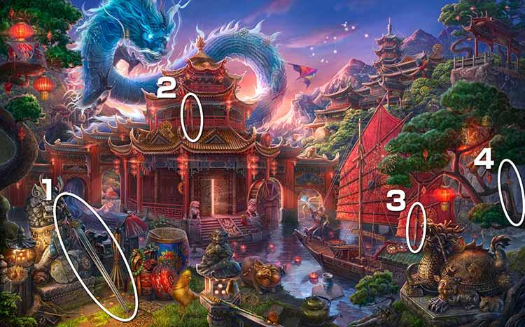 伝説の仏塔:剣