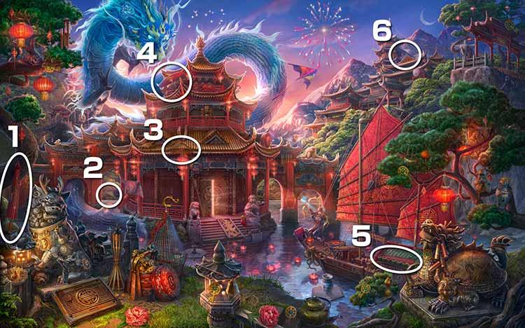 伝説の仏塔:傘