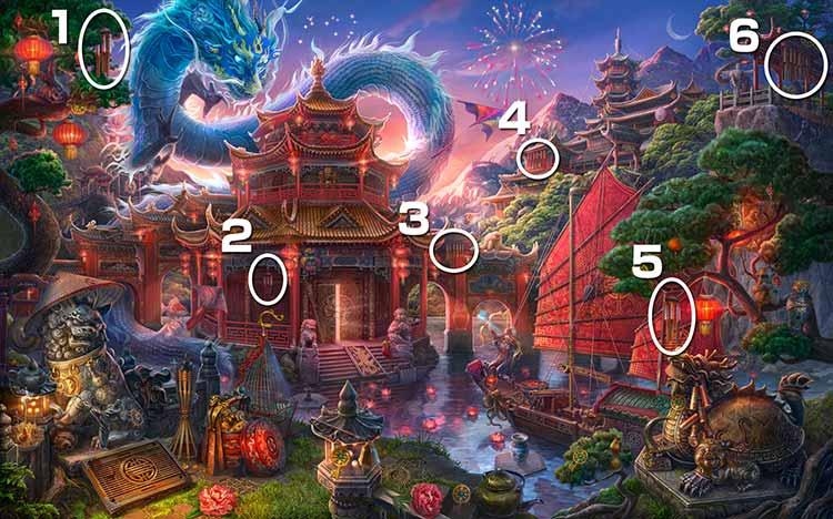 伝説の仏塔:風鈴