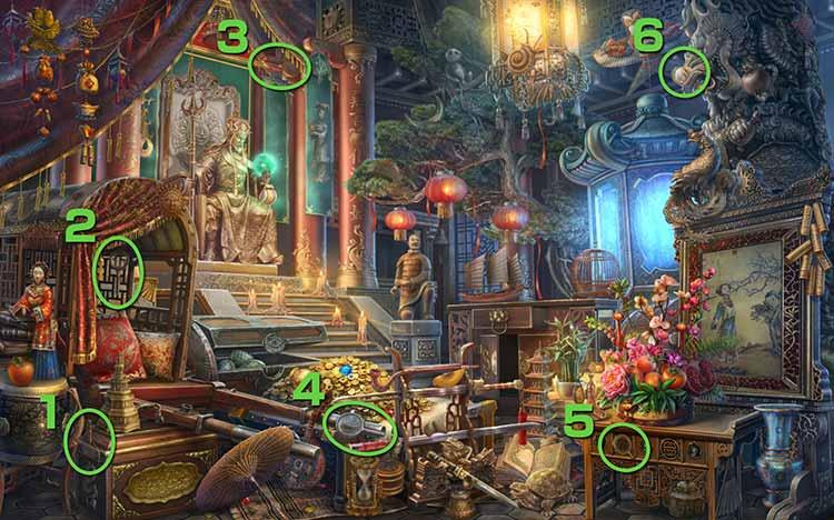 皇帝の宮殿:虫眼鏡