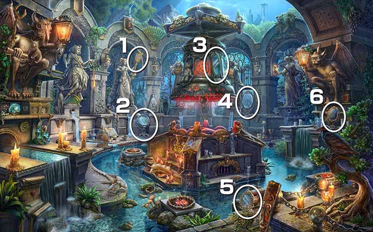魔女の住処:鏡