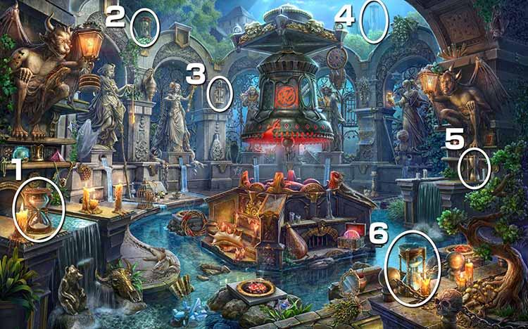 魔女の住処:砂時計