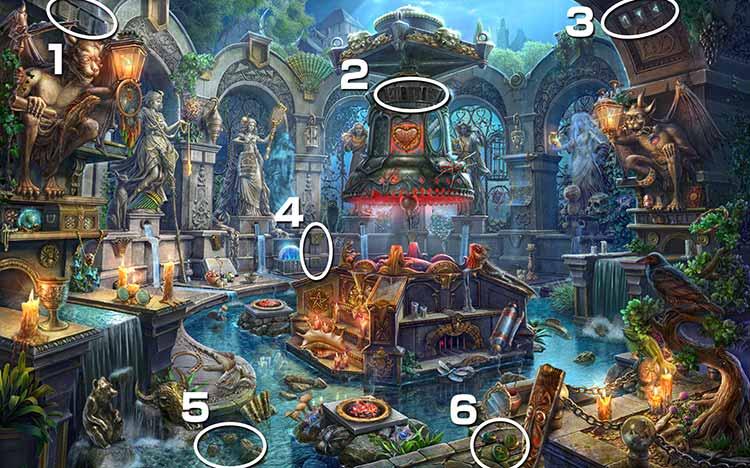 魔女の住処:ルーン文字