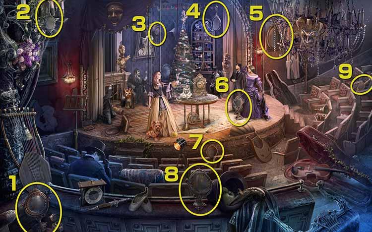 歓喜の劇場:鏡