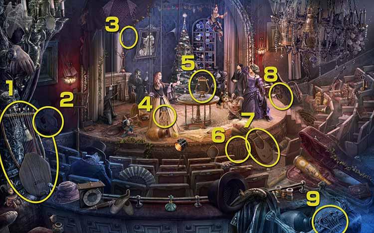 歓喜の劇場:竪琴