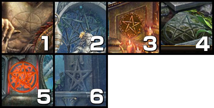 魔女の住処:五芒星